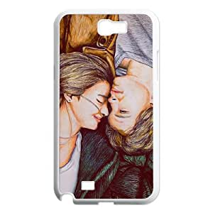 New Fashion AXL391843 Painted Pattern Phone Case For Samsung Galaxy Note 2 N7100 Cover Case w/ The Fault In Our Stars