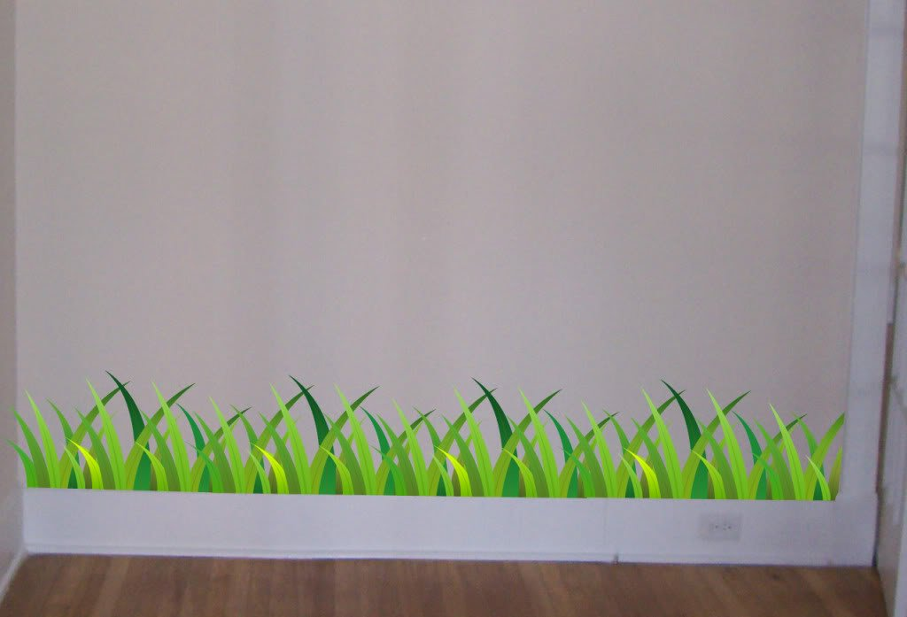 Amazon.com Grass Wall Decal Beautiful Deco Art Sticker Mural by DIGIFLARE GRAPHICS proud USA Manufacturer!! Everything Else & Amazon.com: Grass Wall Decal Beautiful Deco Art Sticker Mural by ...