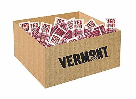 Vermont Smoke & Cure Mini Meat Sticks, Spicy Italian Pork, 192 Count - Italian Jerky