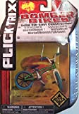 Flick Trix Die-cast Bomber Bikes - Flatware (Green, Purple, Blue, White)