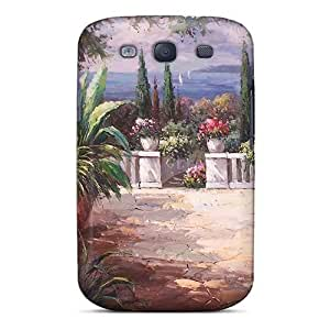 Hot Design Premium PcI1180ddYG Tpu Case Cover Galaxy S3 Protection Case(morning Awakening)