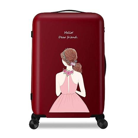 6704632d4d10 Amazon.com: MING REN Luggage Sets Trolley case - Polyester/PC, TSA ...