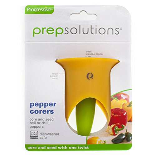Take 2pk Progressive Prep Solutions Pepper Corers Twist to Core & Seed Bell & Chili save