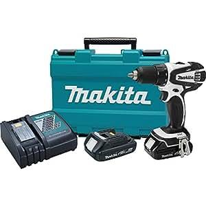 "Makita XFD01RW 18V LXT Lithium-ion Compact Cordless 1/2"" Driver-Drill Kit (2.0Ah)"