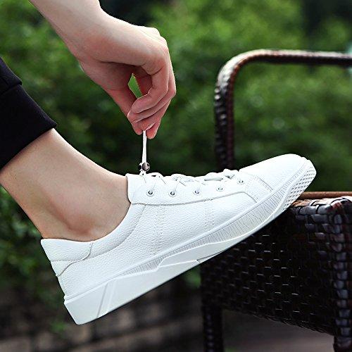 Primavera puro bianche Scarpe Wuyulunbi autunno Bianco e scarpe scarpe AHqHd
