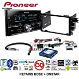 Volunteer Audio Pioneer MVH-S600BS Double Din Radio Install Kit with Bluetooth USB/AUX Fits 2003-2005 Chevrolet Blazer, 2003-2006 Silverado, Suburban (Bose and Onstar)