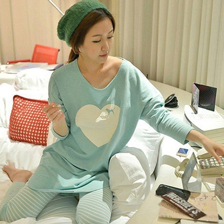 88b31bdddb MH-Rita 2017 Womens Pajama Sets Autumn and Winter Long Sleeve Femme Pijamas  Mujer Homewear