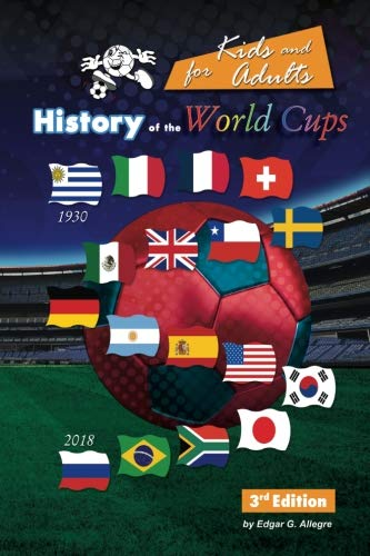 History of the World Cups for Kids and adults: Uruguay 1930 to Russia - World Uruguay Cup 1930