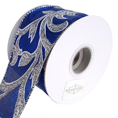 Homeford FRR093040W98940F Ribbon, 2-1/2'', Royal Blue by Homeford