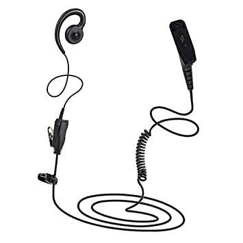 Headset Earpiece PTT MIC for MOTOROLA XPR6300 XPR6350 XPR6500 XPR6550 Radio