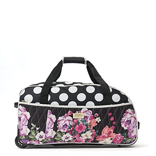 Macbeth Collection Women's 21.5 inch Duffel Bag, One Size, -