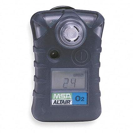 MSA Altair 10092523 oxígeno O2 (bajo: 19,5%, alto: 23,0%), Negro (Juego de 1/Ea): Amazon.es: Amazon.es