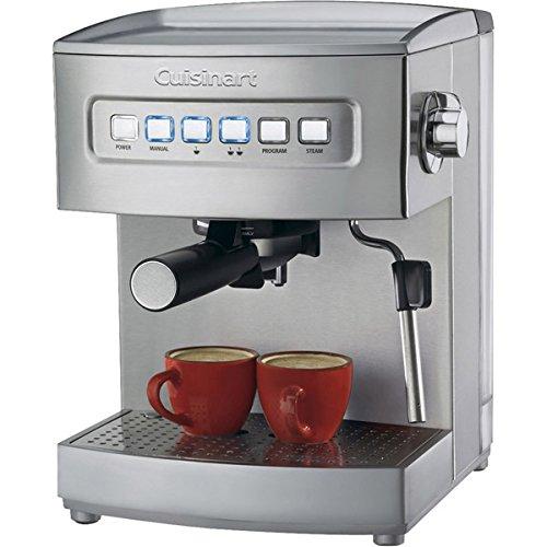 Cuisinart EM-200 Programmable 15-Bar Espresso Maker, Stainless Steel