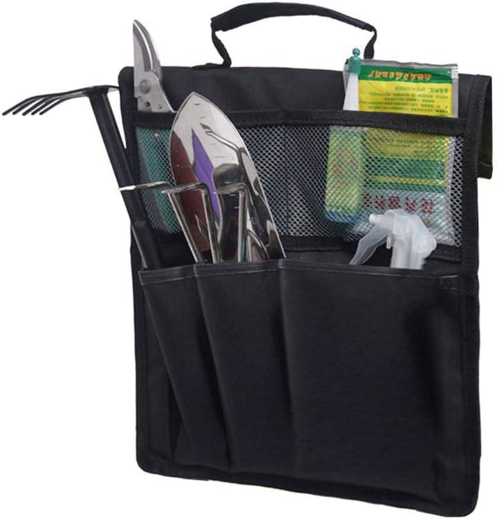 SANTITY Garden Tool Bag for Kneeler with Handle, Garden Kneeler Seat Side Pockets, Portable Folding Kneeling Stool Chair Cloth Bag, Multiple Functional Storage Organizer (Tool Bag Only)