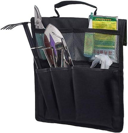 SyeRum - Rodilleras para jardinería, banco de jardín, plegable, taburete, bolsa de herramientas portátil para jardinería: Amazon.es: Hogar