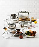 Belgique (High End Quality Home Cookware) 11 Piece Pot And Pan Set - Stainless Steel