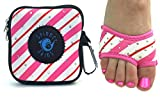 can can dancer - Spinner Skins Neoprene Dance Half Soles and Pouch-Perfect Gift for Dancer-Candy Cane Can Can-S