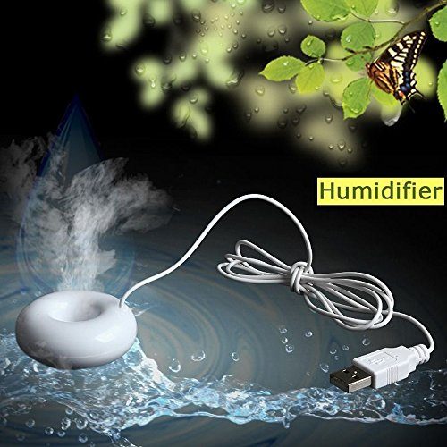 Mini Pocket-size USB Steam Water Floating Humidifier Air Mist Diffuser Purifier
