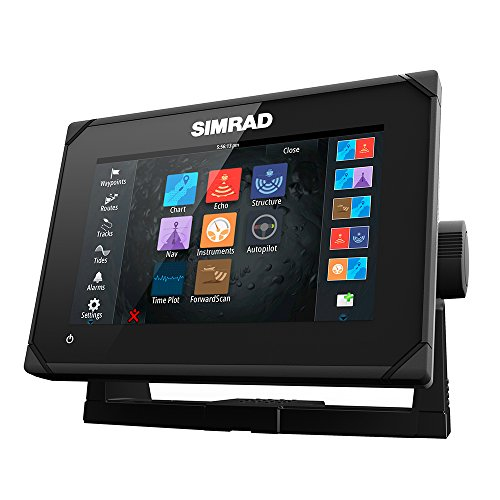 Simrad GO7 XSE 7'' Multi-touch ChartPlotter - No Ducer - NAV+ Chart Card by Simrad