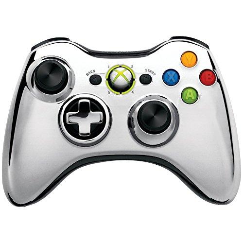 Xbox 360 Wireless Controller Chrome Silver