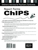 img - for Children's Interview for Psychiatric Syndromes: Chips : Report Forms book / textbook / text book