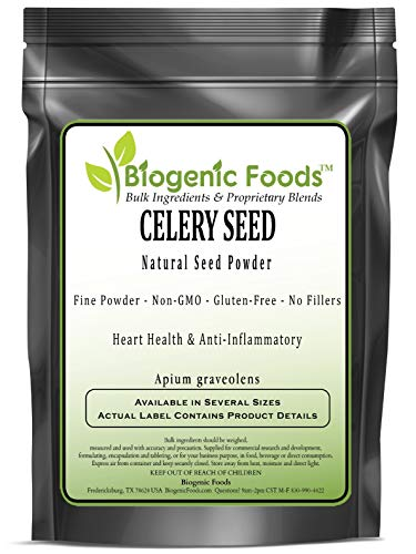 Celery Seed - Natural Seed Powder (Apium graveolens), 5 kg by Biogenic Foods (Image #2)