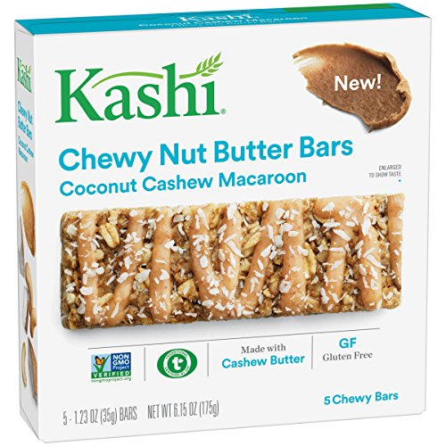 Macaroon Mix Coconut (Kashi Coconut Cashew Macaroon Chewy Granola Nut Butter Bars, 6.2 Ounce)