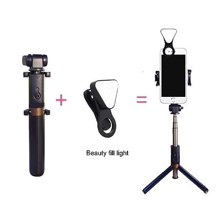 Todo En Uno Bluetooth Portátil Selfie Stick para Transmisión En ...
