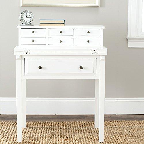Safavieh American Homes Collection Abigail Fold Down Desk, White