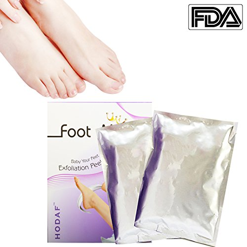 2 Pairs Exfoliant Foot Peel Spa Mask Exfoliating Scrub Removes Dry Dead Skin and Calluses, Repair Rough Heels, Get Soft Smooth Baby - Great Mall Hours