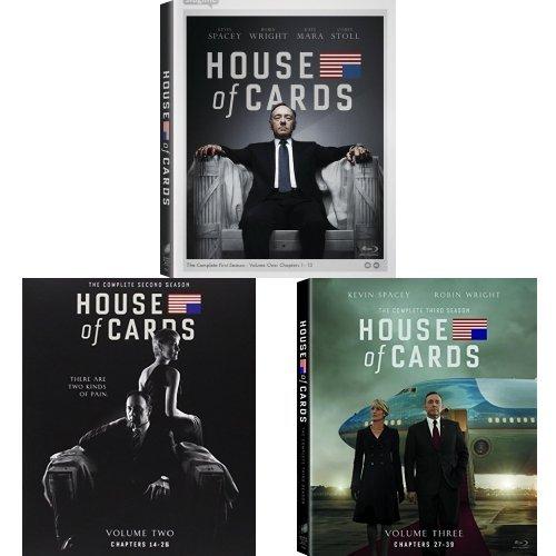 House of Cards: Seasons 1-3 Blu-ray Bundle