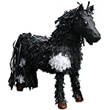 Pinatas 3D Horse Party Game, Decoration and Photo Prop - Black/White