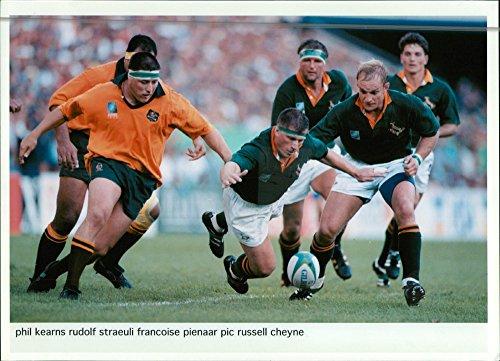 Rudi Cup - Vintage photo of 1995 Rugby World Cup (rudi straeuli)