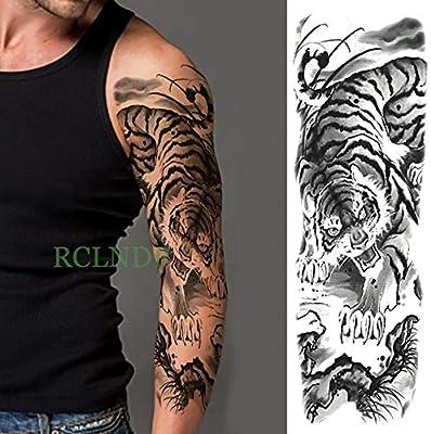 Handaxian 3pcs tamaño Impermeable Etiqueta engomada del Tatuaje ...