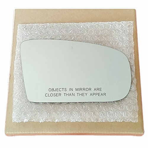 Mirror Glass and Adhesive 97 - 03 Chevy Malibu / 97 - 99 Olds Cutlass Passenger Right Side Replacement