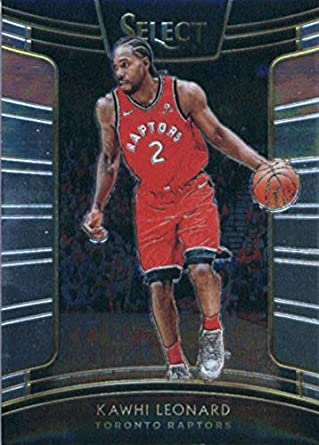 13d1fda68d893 Amazon.com: 2018-19 Panini Select #93 Kawhi Leonard Toronto Raptors ...