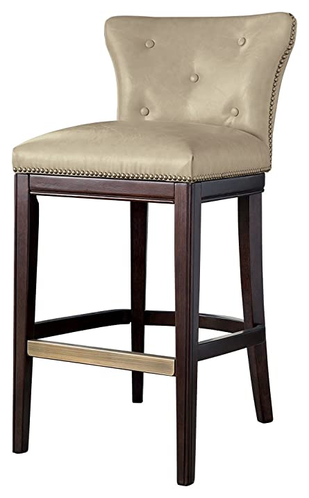 ashley furniture signature design canidelli pub height bar stool upholstered chair seats with wooden