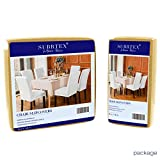 subrtex Dining Room Chair Slipcovers Jacquard