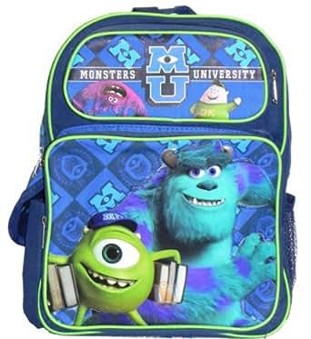 """Monsters University Backpack Medium 14"""" Scare School Disney"""
