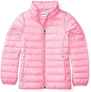 Amazon Essentials girls Water-Resistant Packable Puffer Jacket