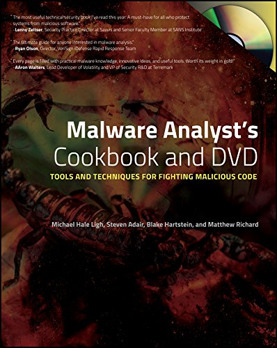 Malware Analyst's Cookbook: Tools and Techniques for Fighting Malicious Code Doc