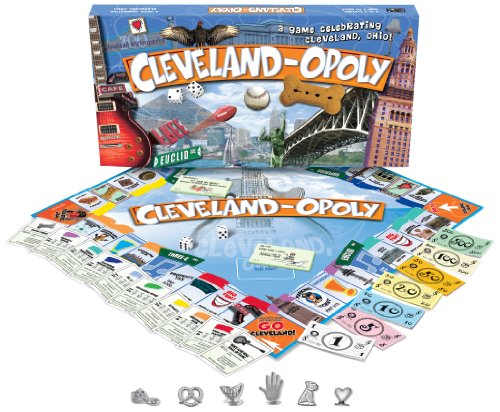 Cleveland-opoly - City in a Box Board Game from Late for the Sky