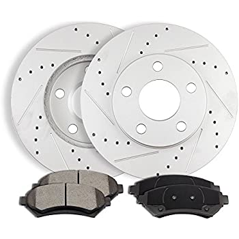 2016 For Mitsubishi RVR Front Set Both Left and Right Ceramic Brake Pads with 2 Years Manufacturer Warranty