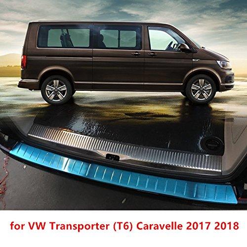 Caravelle 2017 2018. T6 HIGH FLYING Protector para Maletero Trasero de Acero Inoxidable de Alto volteo 2 Piezas de Accesorios para Volkswagen Transporter