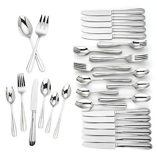Lenox 18/10 Stainless Steel 80 pc Service for 12 Flatware Se
