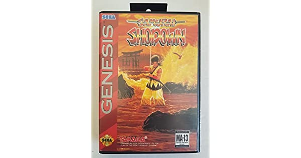 Amazon.com: Samurai Shodown - Sega Genesis: Video Games