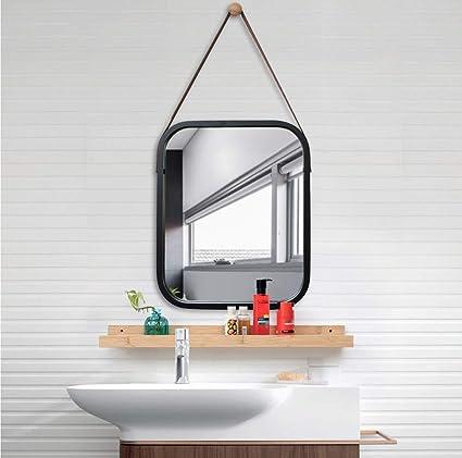 Astonishing Mirror Ldj Bamboo Frame Wall Hanging Bathroom Mirror Home Download Free Architecture Designs Ferenbritishbridgeorg