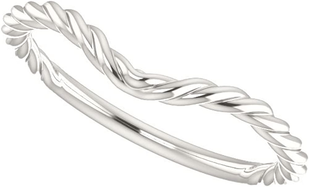 Size 7 Bonyak Jewelry Sterling Silver Band for 12x6 mm Marquise Ring