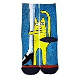 Mommy doesnt go away Lovely Cats Custom Socks Street Fashion Socks Hip Hop Street Professional Skateboard Sports Socks Black