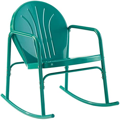 Crosley Griffith Metal Rocking Chair